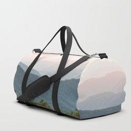 Great Smoky Mountain National Park Sunset Layers III - Nature Photography Duffle Bag