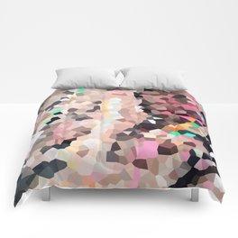 Pink Moon Love Comforters