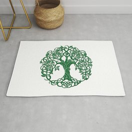 Tree of life green Rug