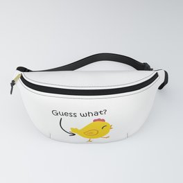Humor and Funny: Guess What? Chicken Butt! Fanny Pack