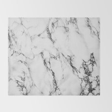 Marble #texture Throw Blanket