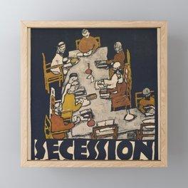 "Egon Schiele ""Secession 49. Exhibition"" Framed Mini Art Print"