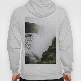 Gullfoss waterfall in Iceland - Landscape Photography Hoody