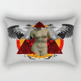Wonder Wood Dream Mountains - The Demon Cleaner Series · Flying Marie Rectangular Pillow