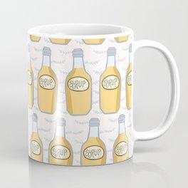 Cute bottle of golden syrup illustration Coffee Mug