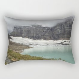 Grinnell Glacier - Expiration Date 2030 Rectangular Pillow