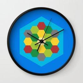 Settlers Wall Clock