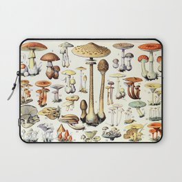 Adolphe Millot - Champignons B - French vintage poster Laptop Sleeve