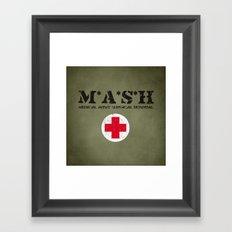 MASH Framed Art Print