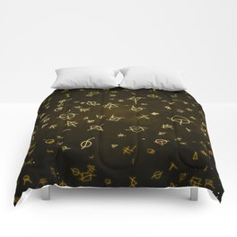 Charter gold Comforters