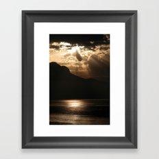 Swiss Alps Framed Art Print