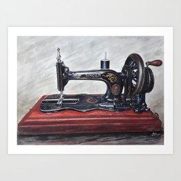 The machine III Art Print