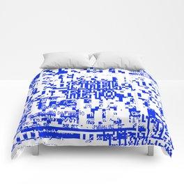 Pixel Reto Comforters