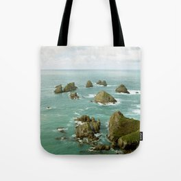 Where two oceans meet Tote Bag