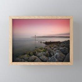 Exmouth evening Framed Mini Art Print