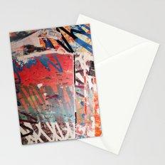 ORANGE SCRIBBLE Stationery Cards