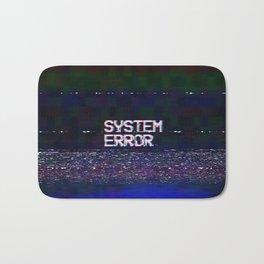 System Error Bath Mat