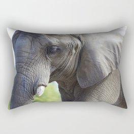 An Elephant's last days at the Toronto Zoo Rectangular Pillow