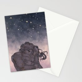 quietly devoured Stationery Cards