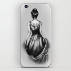 polite girl iPhone & iPod Skin