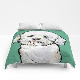 Gracie the Bichon Comforters