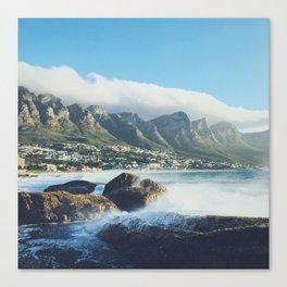 Hello Cape Town Canvas Print