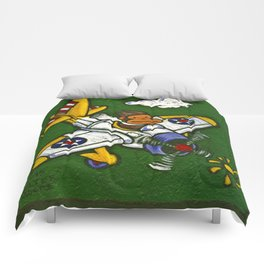 Airplane Ape Comforters