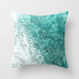 Sea Greenness Throw Pillow