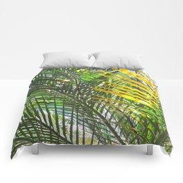 Golden Palm Comforters