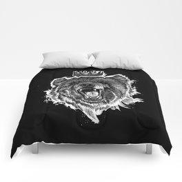 Berlin Bear King Comforters