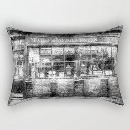 Ye Old Shambles Tavern York Vintage Rectangular Pillow