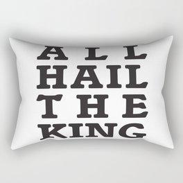 All Hail the King Rectangular Pillow