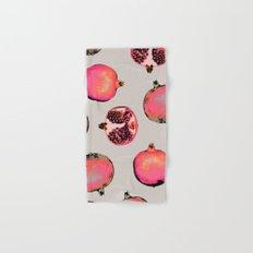 Pomegranate Pattern Hand & Bath Towel