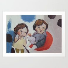 Childhood memories Art Print