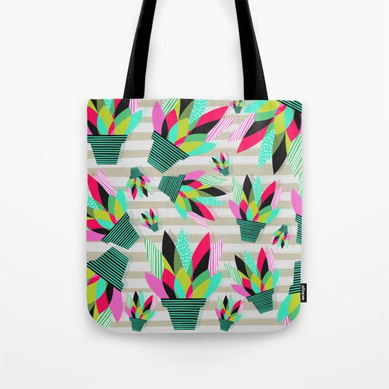Joyful Plants II Tote Bag