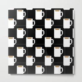 coffee mug pixel Metal Print