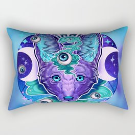 Jackal Eyes Rectangular Pillow