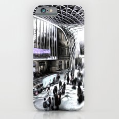 Kings Cross Station London Art iPhone 6s Slim Case
