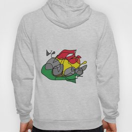 Crab on a Firepit Hoody