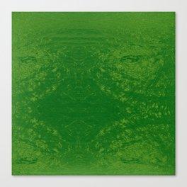 Bright Sea Foam Water Canvas Print