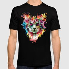 Cat II Black Mens Fitted Tee 2X-LARGE