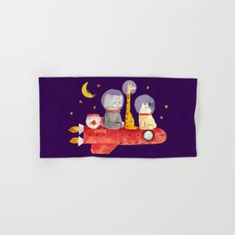 Let's All Go To Mars Hand & Bath Towel