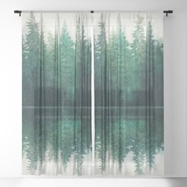 Reflection Sheer Curtain
