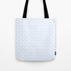 Neat Lavender Netting Tote Bag
