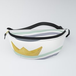Origami sea Fanny Pack