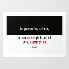 Children of Light Art Print