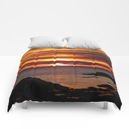Sunrise Flight  Comforters