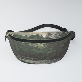 Pacific Northwest River - Nature Photography Fanny Pack