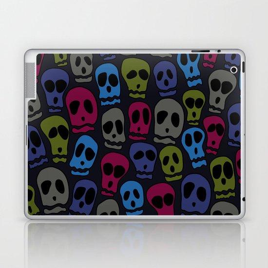Skulls-3 Laptop & iPad Skin