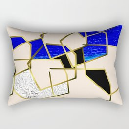 LOOKING AT THE SEA AND MY LOVE. WALKING IN PURSUIT OF PEACE. Rectangular Pillow